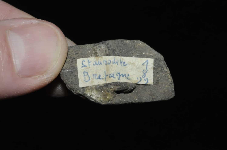 Staurodite de Bretagne (ex Deyrolle).
