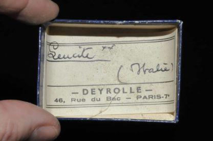 Leucite d'Italie (ex Deyrolle).