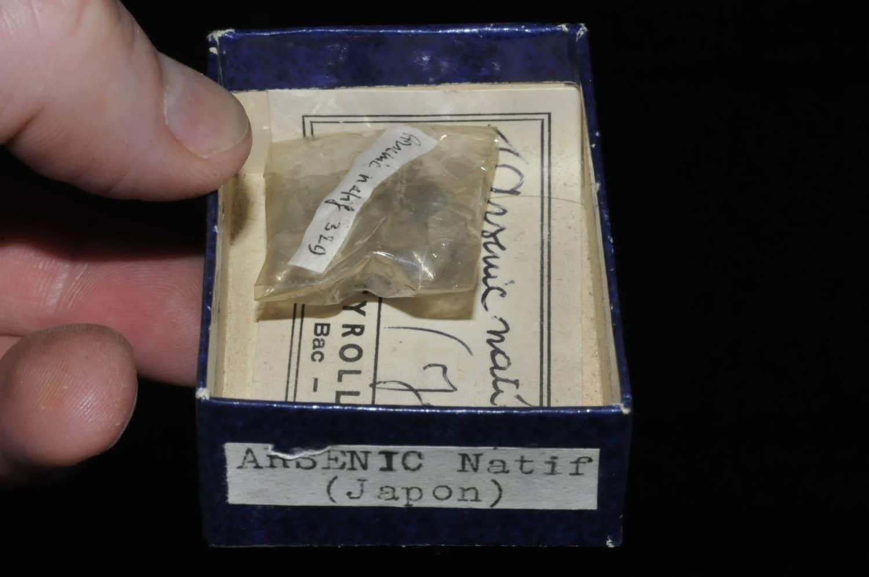Arsenic natif du Japon (ex Deyrolle).