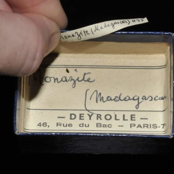 Monazite de Madagascar (ex Deyrolle).