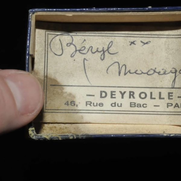 Béryl de Madagascar (ex Deyrolle).