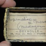 Tourmaline et muscovite de Madagascar (ex Deyrolle).