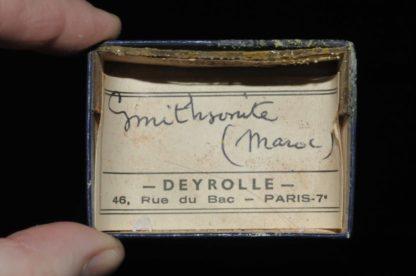 Smithsonite du Maroc (ex Deyrolle).
