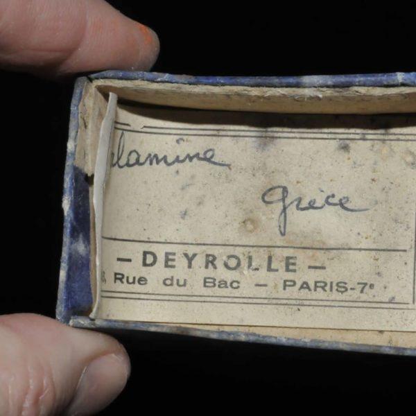 Calamine (smithsonite) de Grèce (ex Deyrolle).