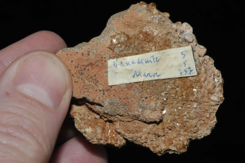 Vanadinite du Maroc (ex Deyrolle).