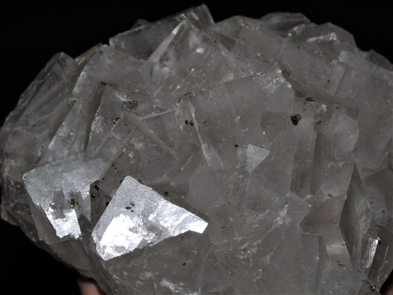 Fluorite et marcasite, mine de Fontsante, Var