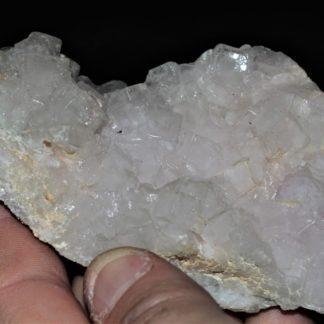 Fluorine incolore et mauve, mine de Fontsante, Var.