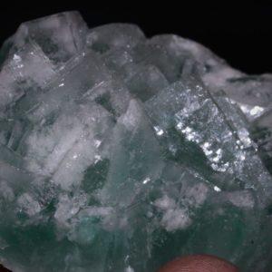 Fluorine du filon du figuier, mine de Fontsante, Var.