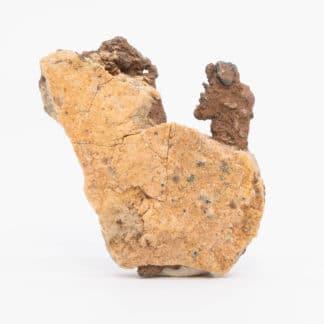 Cuivre natif, mine de la Clue de Roua, Daluis, Alpes-Maritimes.
