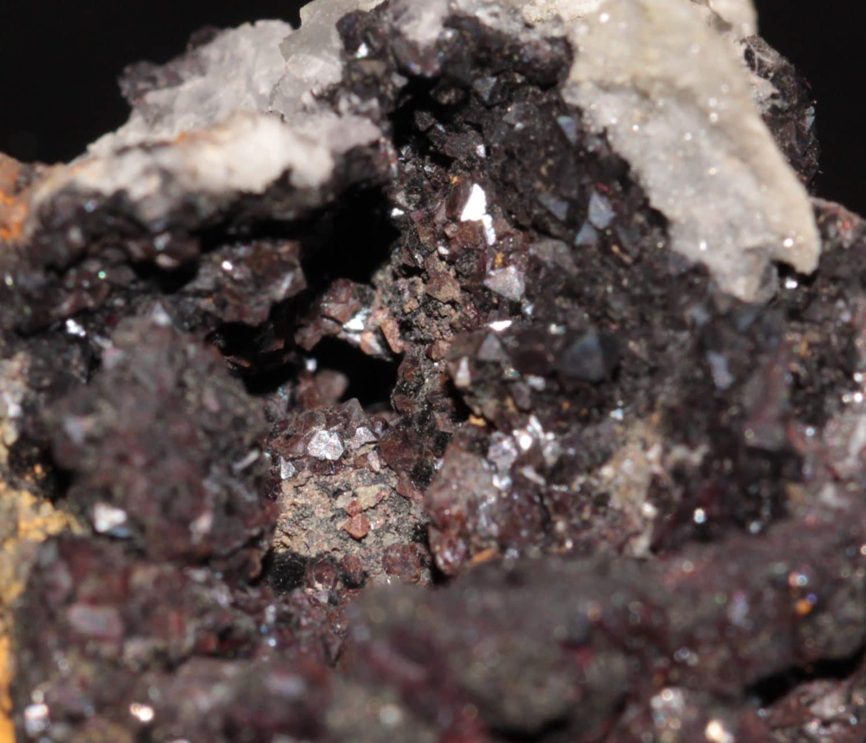 Bismuthinite et grenat, Saxe