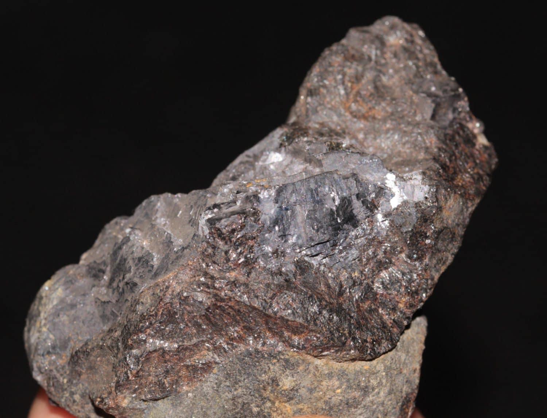 Sphalérite (Blende), mine de Pont-Péan, Bruz, Ille-et-Vilaine.
