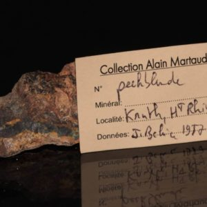 Pencheblende, Kruth, Vosges (ancienne collection Alain Martaud)