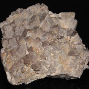 Cristaux de quartz, carrière Creuzeval, Beaujeu, Rhône.
