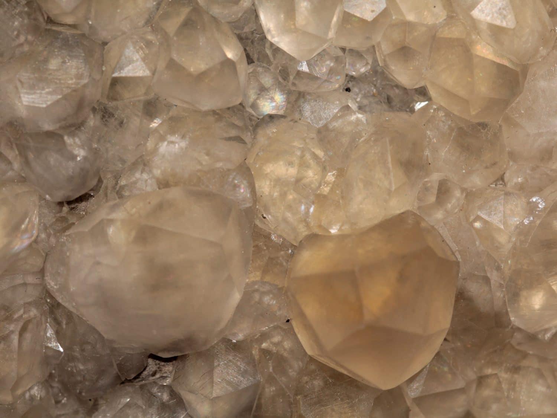 Calcite et sphalérite, Trèves, Gard.