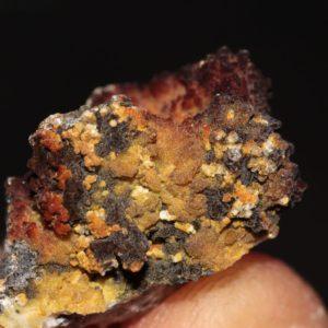 Beudantite de la mine du Mas-Dieu dans le Gard.