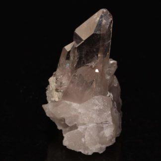 Cristal de quartz, Glacier de Sarenne, Massif des Grandes-Rousses, Oisans, Isère.