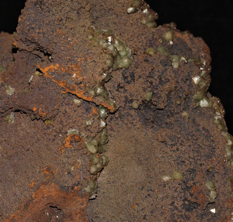 Adamite, mine de Ojuela, Durango, Mexique.