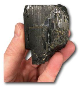Wolframite, mine de Panasqueira, Portugal.