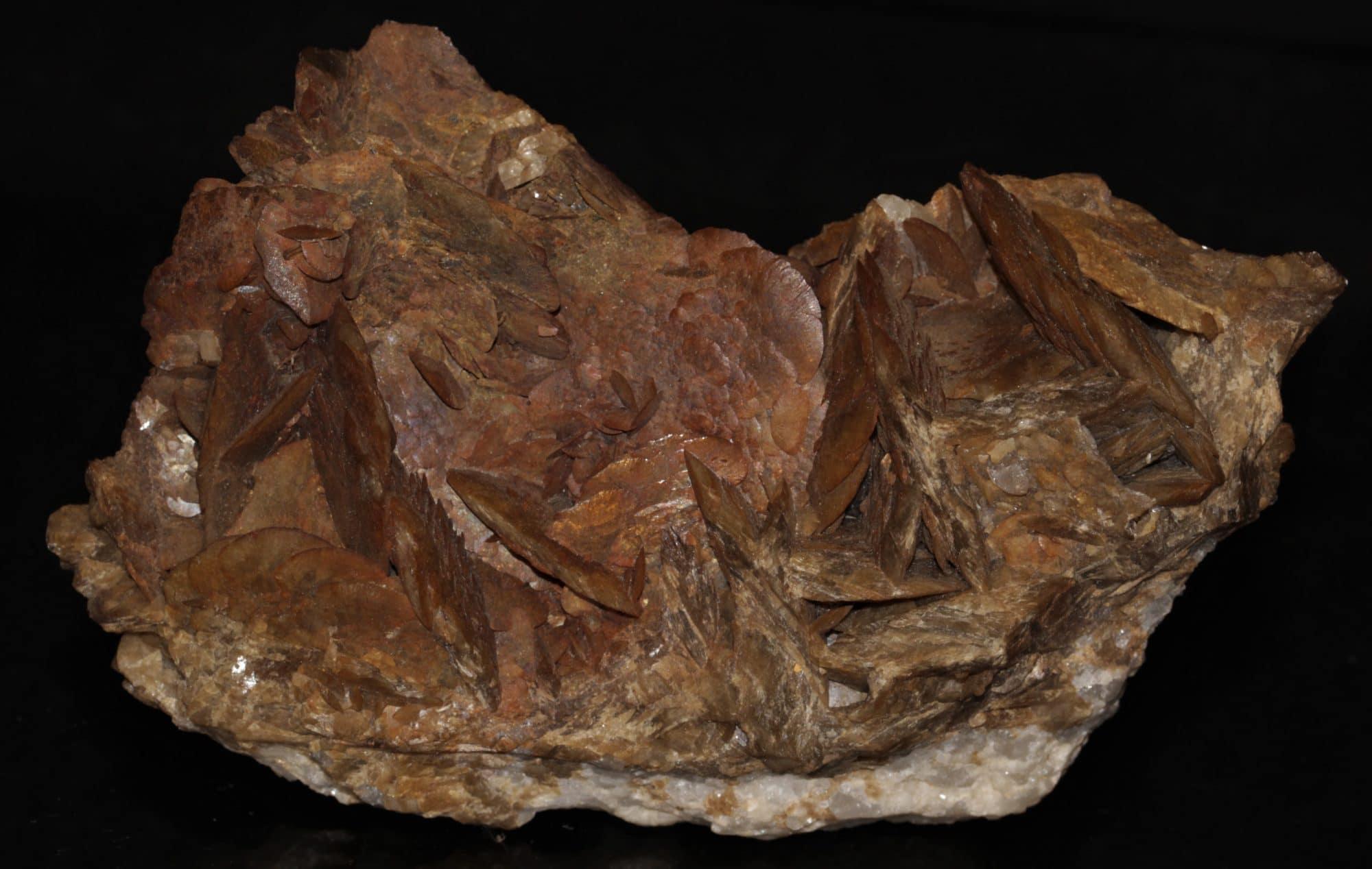 Sidérite, mine de la Mure, Isère.