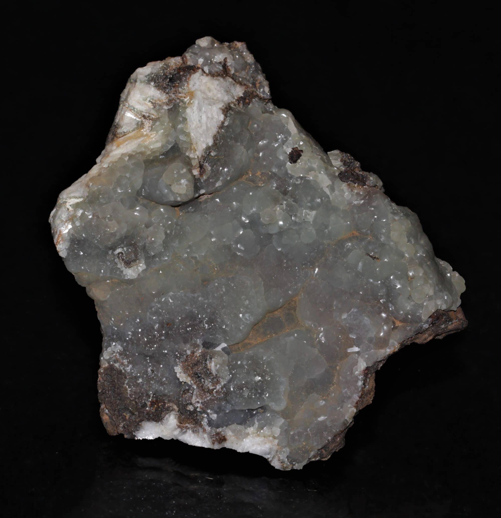 Smithsonite, Mine de Mas Lacombe, district de Saint-Laurent-le-Minier, Gard