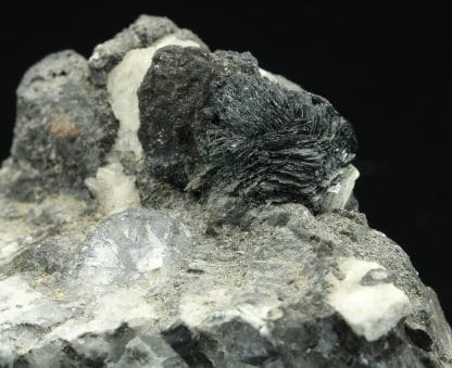 Crednérite, Merehead quarry, Shepton Mallet, Bristol, Angleterre.