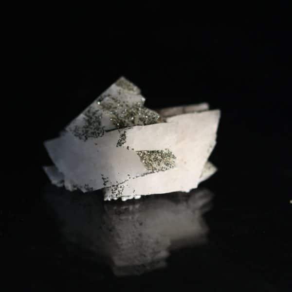 Adulaire et chlorite, Val Casatsch, Val Medel, Grisons, Suisse.