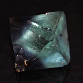 Fluorine bicolore, carrière Boltry, Seilles, Belgique.