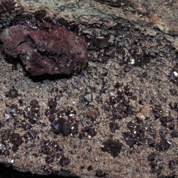 Cuprite, Tsumeb, Namibie, Afrique.