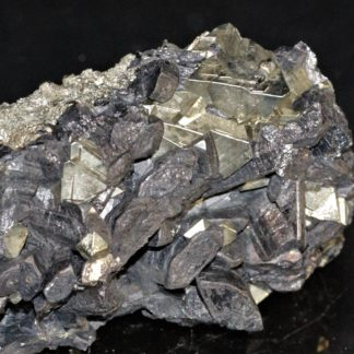 Énargite et pyrite, Colorado, USA.