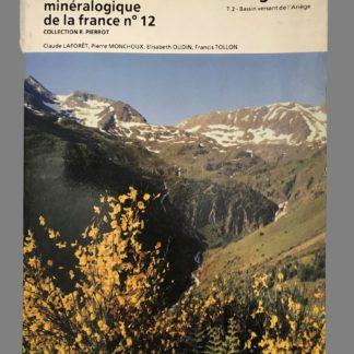 Inventaire minéralogique de la France : Ariège (09- n°12)