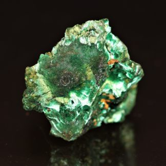 Malachite velours, mine de Chessy, Lyon, Rhônes-Alpes.