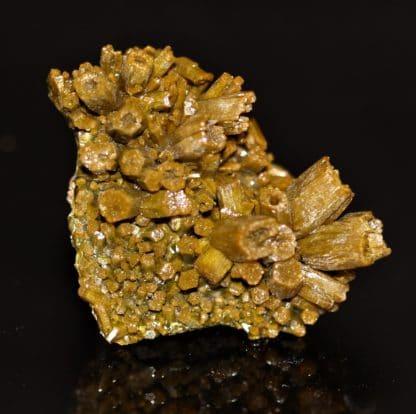 Pyromorphite de la mine des Farges en Corrèze.