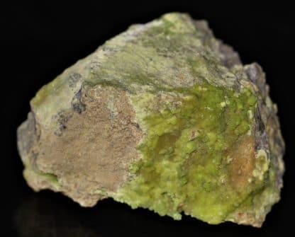 Pyromorphite, mine de la Vidale, Aveyron.