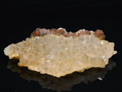 Quartz et fluorine hématoïde, l'Argentolle, Saône-et-Loire.