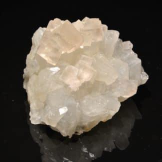 Fluorine et quartz, mine de Marsanges, près de Langeac, Haute-Loire.
