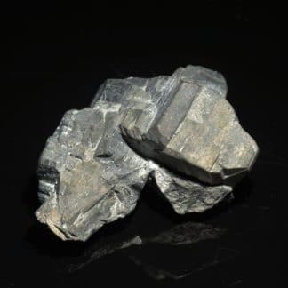Bournonite, Mine des Malines, Saint Laurent le Minier, Gard.