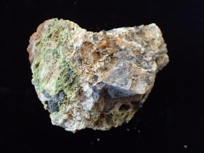 Hydroxylpyromorphite, pyromorphite, galène et cérusite de l'Argentolle.