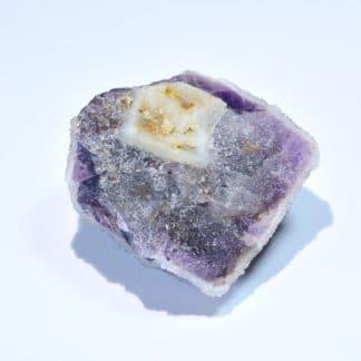 Fluorine et quartz, Moustier-Ventadour, Corrèze.