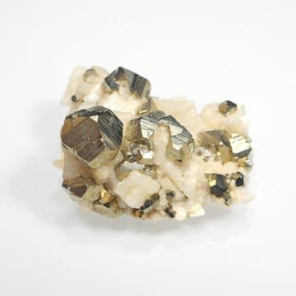 Pyrite, dolomite, Saint-Pierre-de-Mésage, Isère, Oisans