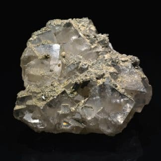 Fluorine et pyrite, Fontsante, Var.