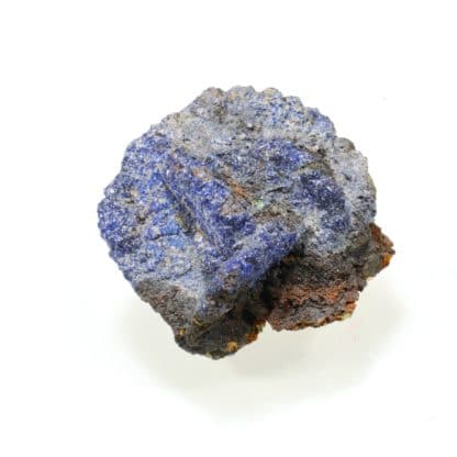 Pseudomorphose de bournonite en azurite, Usclas-du-Bosc, Loiras, Hérault.