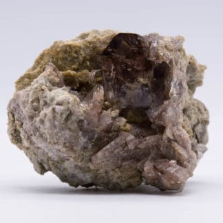 Axinite, La Léchère, Tarentaise, Savoie.