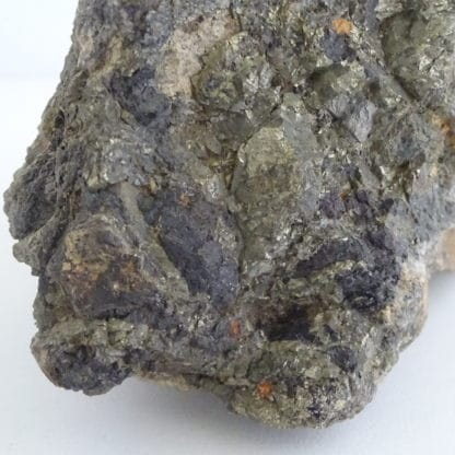 Sphalérite et arsénopyrite de la mine de La Bessette, Puy-de-Dôme.