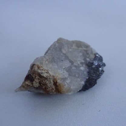 Wolframite, Cuprite et Pyrite de Vaulry, Haute-Vienne, Limousin.