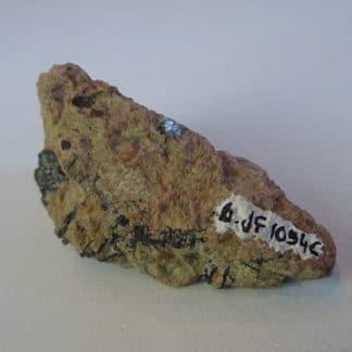 Yttrotantalite (tantale d'yttrium) de Chedeville, Ambazac, Limousin (87).