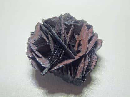 Rose d'hématite en provenance du Saphoz, Haute-Saône. (70)
