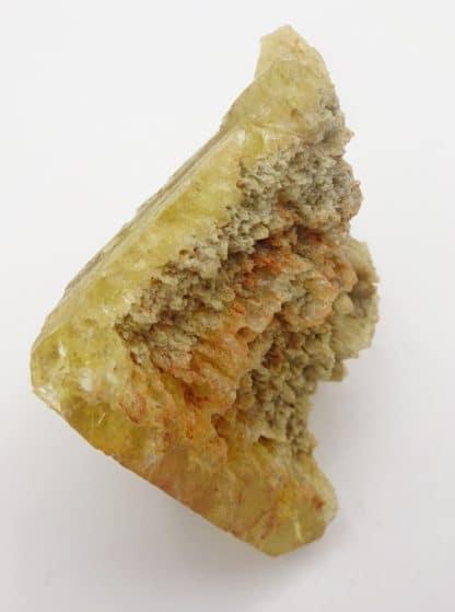 Fluorine jaune dissolue, Puy-Saint-Gulmier, Puy-de-Dôme.