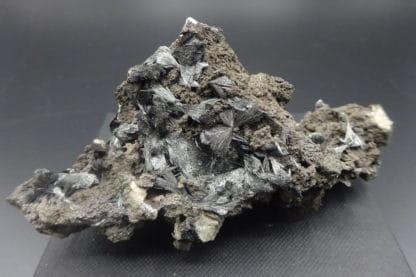 Pyrolusite, Roßbach Mine, Allemagne.