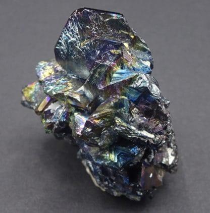 Fer oligiste cristallisé (hématite), Ile d'Elbe, Italie.