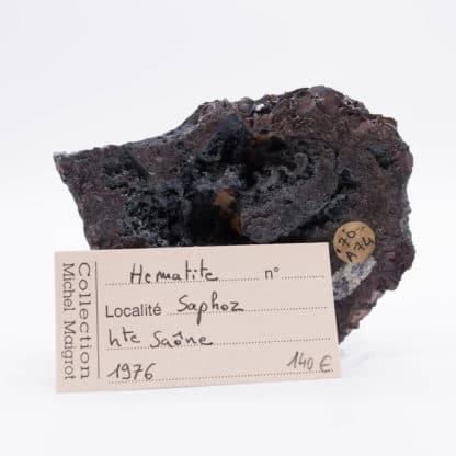 Hématite, Saphoz, Faucogney, Haute-Saône.